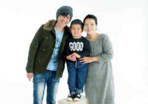 宮崎観光ホテル写真室、記念写真、家族の記念日