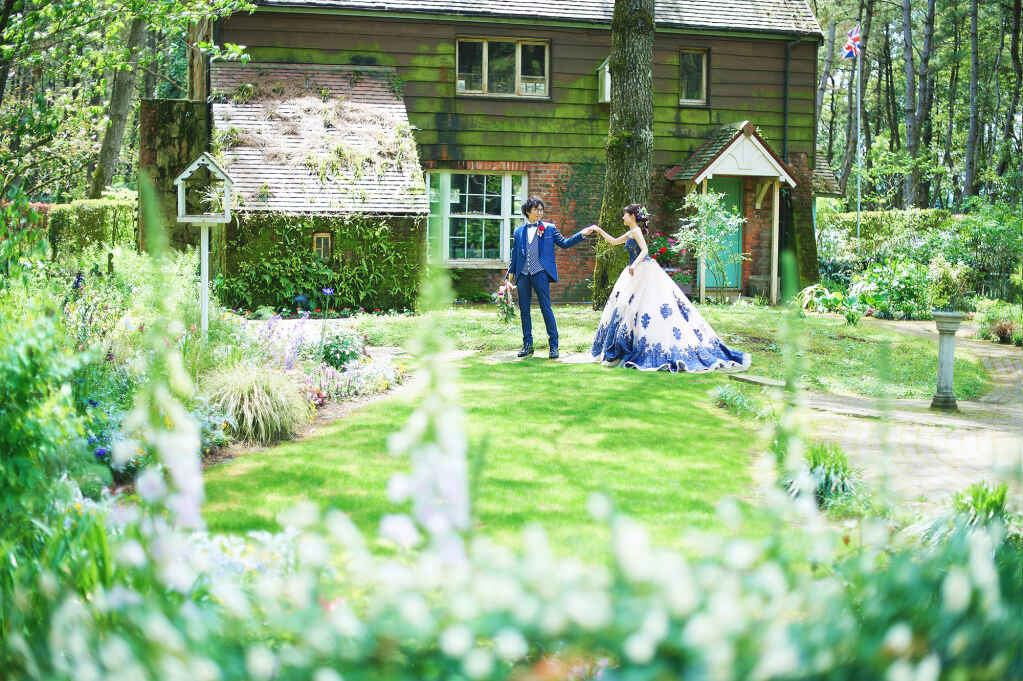フォトウェディング&前撮り/ドレスロケ・英國式庭園